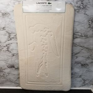 Lacoste Bath New Cotton Mat Poshmark